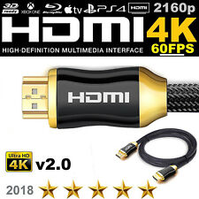 HDMI CABLE LEAD 2160P 1 - 20M HIGH QUALITY GOLD PLATED FOR SAMSUNG LG OLED 4K TV
