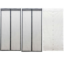 Mesh Insect Fly Bug Mosquito Door Curtain Net Netting Mesh Screen Magnet