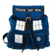 Doctor Dr. Who Tardis Women's Knapsack Backpack Police Box Bag Good Quality With