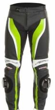 RST 1444 Tractech Evo II R/L Leather Jeans - Black/Flo Green