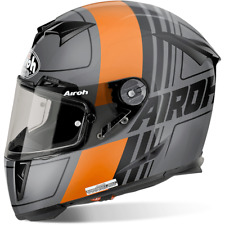 CASQUE ROUTE AIROH FULL RACE GP500 SCRAPE ORANGE MATT TAILLES XS < XL