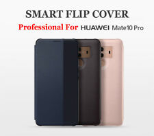Custodia Flip Per Huawei Mate 10 Pro Phone Case Cover P10 Plus Smart Flip Cover