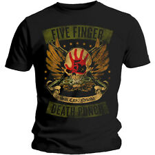 "FIVE FINGER DEATH PUNCH - ""LOCKED AND LOADED"" T-SHIRT"