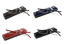 Unisex TR90 Multi-Color Half Frame Reading Glasses Reader +1.00 ~ +4.00 New
