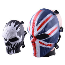 Airsoft Paintball Tactical Gear CS War Game Face Skull Mask Protection Halloween
