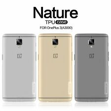 Nillkin Nature Clear TPU Silicone Soft Case Cover for Oneplus 3T / Oneplus 3