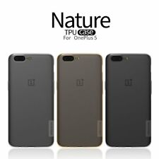 Nillkin Nature Clear TPU Silicone Soft Case Cover for OnePlus 5