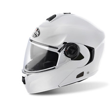 CASQUE AIROH FLIP UP RIDES COLOR WHITE GLOSS CHOIX TAILLE XS / XXL