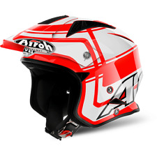 CASQUE AIROH URBAN JET TRR S WINTAGE RED GLOSS CHOIX TAILLE XS / XXL