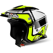 CASQUE AIROH URBAN JET TRR S WINTAGE YELLOW GLOSS CHOIX TAILLE XS / XXL