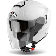 CASCO AIROH URBAN JET HUNTER COLOR BLANCO BRILLANTE ELECCIÓN TALLA XS / XXXL