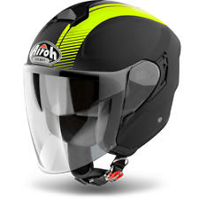CASCO AIROH URBAN JET HUNTER SEMPLICE YELLOW BRILLANTE ELECCIÓN TALLA XS / XXXL