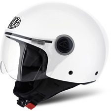CASQUE AIROH URBAN JET COMPACT PRO COLOR WHITE GLOSS CHOIX TAILLE XS / XL