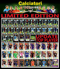 CALCIATORI ADRENALYN XL 2016 2017 LIMITED EDITION - GOLD - TOP PLAYER  - UPDATE