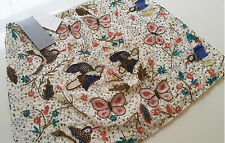 H&M Premium Hand Beaded Embroidered Butterfly Bird Floral Skirt UK 8 10 12 14