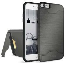 iPhone6 6S Plus Case Shockproof Kickstand Wallet Dual Layer Back Case Cover New