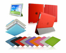 Smart Magnetic Leather Cover Back Stand For APPLE iPad 2/3/4 mini Air 2 Free Pen