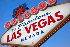 """Poster The famous """"Welcome to Fabulous Las Vegas"""" sign - Brian Jannsen"""