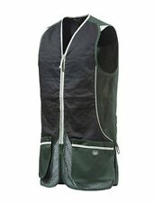 Beretta Silver Pigeon Shooting Vest - Green & Black Skeet Vest Clay Shooting
