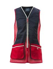 Beretta Silver Pigeon Shooting Vest - Red & Navy Skeet Vest Clay Shooting GT031