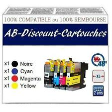 JE10 Cartouches !!NON OEM !! compatibles avec BROTHER LC123