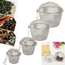 Stainless Steel Tea Bag Squeezer Infuser Strainer Filter Steep Herbal Spice GD