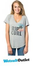 2017 Rip Curl signore sole e surf Tee CEMENTO MARLE GTELZ4