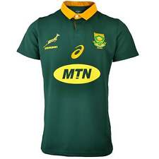 Asics South Africa Springboks Home Rugby Shirt 2017-18 - Green