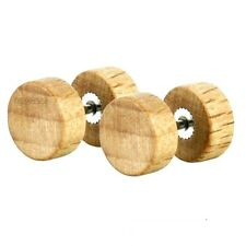 paio 8 mm 10 FALSO PLUG ORECCHIO TUNNEL Piercing LEGNO ALLARGARE Flesh