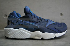 Nike Air Huarache - New Slate/Green Abyss 'Navy'