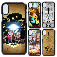 Gravity Falls Hard Fitted Plastic iPhone 5 6 7 8 X iPod Cover Case