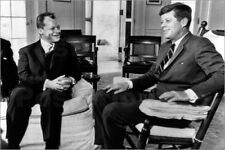 Poster Chancellor Willy Brandt and President John F. Kennedy