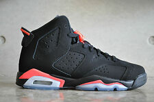 "Nike Air Jordan 6 Retro ""Black Infrared"" BG (GS) 2014 - Black/Infrared23-Black"