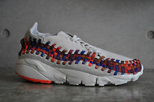 Nike Air Footscape Woven NM - Lt Bone/Lt Bone-Sail-Ttl Crmsn
