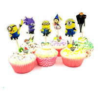 MINIONS CAKE BUNTING Banner Topper Decoration Birthday Party