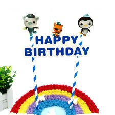 OCTONAUTS CAKE BUNTING Banner Topper Decoration Birthday Party