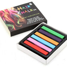6, 12, 24, 36 Pcs Non-Toxic Temporary Hair Chalk Dye Kit Pastels Instant Color