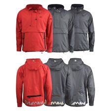 Mens Jacket Money Clothing Raglan Hood Windbreaker Coat