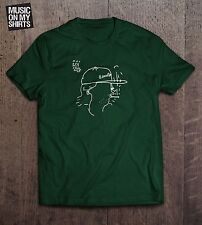 Mac Demarco Salad Days Gildan Softstyle  Charcoal & Forest Green Graphic T-shirt