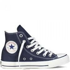 Converse Unisex All Star Hi's Basketball Shoes (Navy)