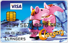Clangers Novelty Plastic Credit Card