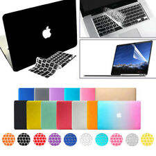 Rubberized Hard Case +Keyboard Cover +LCD for MacBook Pro 13/15 Air 11/13 Retina