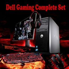 WINDOWS 10 GAMING COMPUTER PC INTEL CORE 2 DUO  Minecraft gaming DELL WIFI