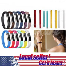 Rubber Candy Colors Replacement Silicone Band Strap Band For Fitbit Alta Watch