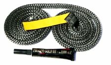 Soft Black Rope Glue & Tape  Absolutely Complete Replacement Kit 4mm - 14 mm