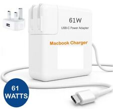 """61W Power Adapter Charger For Apple Macbook 15"""" USB-C Type C Cable Power Supply"""