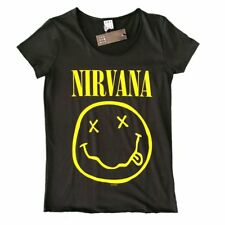 Nirvana Smiley Amplified Ladies Official T Shirt Brand New Various Sizes