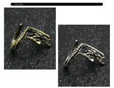 New Alien Covenant Gothic Style Customized Adjustable Metal Alloy Ring