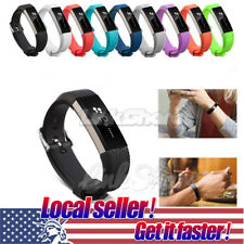 Rubber Replacement Silicone Wrist Band Strap Clasp Buckle For Fitbit Alta Watch