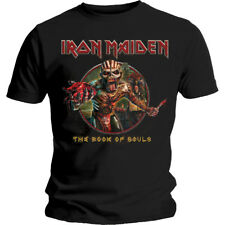 Iron Maiden - Book of Souls Eddie Circle T-Shirt - Official Licensed Merchandise